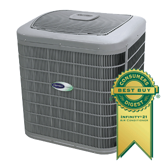 Carrier Infinity 21 central air conditioner.