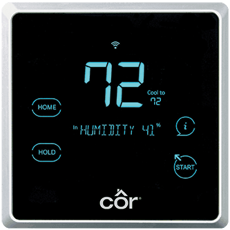 Côr<sup></noscript>®</sup> 7C Wi-Fi<sup>®</sup> Thermostat.