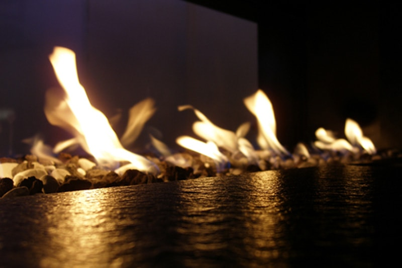 Beauty, Convenience, and Care of Gas Fireplaces, flames